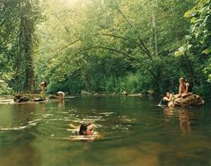 """On the anniversary of her project """"Girl Pictures,"""" the photographer Justine Kurland looks back at her now-iconic images. Justine Kurland, Natural Swimming Pools, Natural Pools, Swimming Holes, Summer Aesthetic, Summer Vibes, Beautiful Places, Scenery, Around The Worlds"""