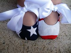 American Flag Mary Jane Shoes