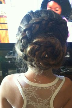 A prom updo i did