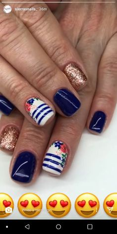 """Receive wonderful recommendations on """"gel nail designs for fall colors"""". They are offered for you on our website. Shellac Nails, Diy Nails, Nail Polish, Pretty Nail Art, Cute Nail Art, Fancy Nails, Love Nails, Gel Nail Designs, Cute Nail Designs"""