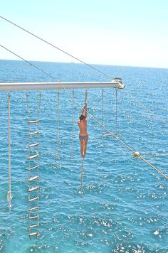 Exercise over the ocean? Yes please.