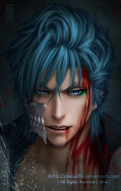 Such good animation GRIMMJOW _ BLEACH by Zetsuai89.deviantart.com on @deviantART