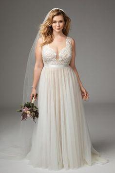 Vestidos de noiva plus size 2017: novas tendências com os modelos mais LINDOS! Image: 0
