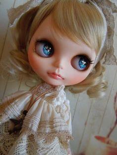 Aguri * Custom Blythe * Natural  Find her here: http://rink.me/1F9T33h  #blythe #blythedolls #kawaii #cute #rinkya #japan #collectibles #neoblythe