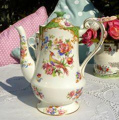 Star China Co. Paragon Rockingham antique coffee pot or teapot
