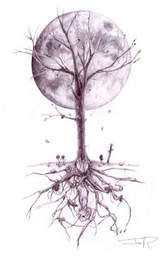 Dead Tree Tattoo by #MindOfLead on deviantART