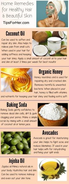Home Remedies for Healthy Hair & Skin