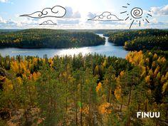 Park Narodowy Repovesi to miejsce, w którym po ciężkim dniu pracy można oddać się różnym rozrywkom. Wspinaczka, łowienie ryb, nordic walking czy nauka przyrody - wszystko to znajdziesz w tym pięknym regionie na południu Finlandii. Idealne miejsce na pierwsze jesienne dni! 🍃 🍁 🍃#finuu #finuupl #finlandia #finland #repovesi #nationalpark #nature #wildnature #dzikanatura #lake #jezioro #sun #lake #autumn #jesien #krajobrazy