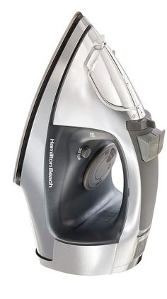 Chi Retractable Cord Iron with Stainless Steel Soleplate - Silver