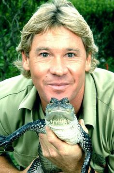 "Stephen Robert Irwin - AKA ""The Crocodile Hunter"" (Feb 22 1962 – September 4, 2006, Age 44) An Australian wildlife expert, TV personality and conservationist. Irwin achieved worldwide fame from the television series The Crocodile Hunter series which he co-hosted with his wife Terri. Cause of Death: Irwin died after being pierced in the chest by a stingray barb while filming an underwater documentary film titled 'Ocean's Deadliest'. #RIP"