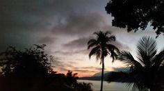 Por do sol em Gidu House