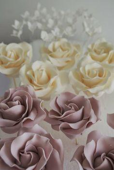 Sugar Ruffles Vintage Roses