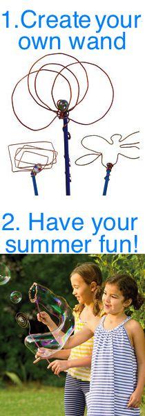 Fun summer activity! #ecofriendly