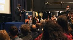 Haringey Sixth Form Centre Top Careers Show opened by MP David Lammy.