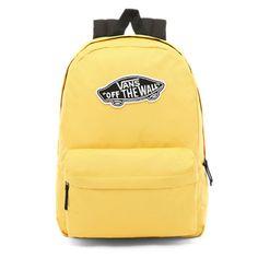 Shop Plecak Realm today at Vans. The official Vans online store. Vans Mochila, Mochila Jansport, Jansport Backpack, Yellow Vans, Blue Vans, Yellow Shoes, Cute Backpacks For School, Cool Backpacks, College Backpacks