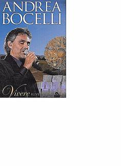 PERFORMED JULY 7 2007 IN TUSCANY VIA PBS. Region Code 1. DVD Gift Quality. PERFORMERS: Andrea Bocelli, Kenny G, Chris Botti, Lang Lang, Elisa and David Foster. Sarah Brightman, Heather Headley and Laura Pausini. | eBay!