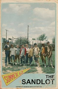 The Sandlot. This brings back sweet memories of Devin growing up. He loved this movie.