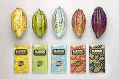 Gilded Artisan Chocolate Packaging  Marou Creates Bean-to-Bar Products Wrapped in Handmade Paper