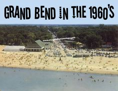 Grand Bend in the 1960's Poster - Ontario Canada Beach Resort Town Summer Fun by MyGenerationShop on Etsy