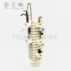 Tsianfan Industrial & Trading Co.,Ltd design and manufacture New Modern MDF Faucet Display Stand Rack, Faucet display for sale, Faucet Display Stand Rack. Bathroom Spa, Bathroom Faucets, Morris Homes, Retail Concepts, Scandinavian Bathroom, Industrial Bathroom, Minimalist Bathroom, Dream Bathrooms, Kitchen Styling