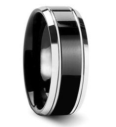 Inspiration Dezigns Brushed Metal Center Dome Tisten Ring