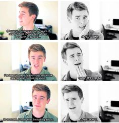 Connor Franta | How I feel when someone asks me for relationship advice!