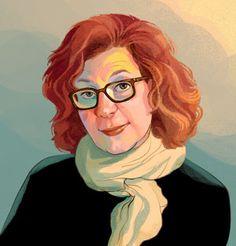 Smithsonian Magazine Portraits, Maira Kalman | ZINA SAUNDERS BLOG