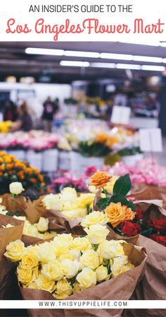 A local's guide to mastering the Los Angeles Farmers Market including tips on where to eat after you shop at Grand Central Market