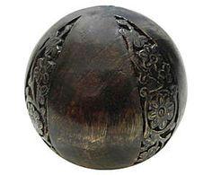 Esfera decorativa wooden