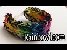 ▶ Rainbow Loom Nederlands 3 Dubbele Fishtail op de Monstertail - YouTube