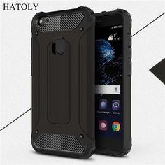 sFor Phone Case Huawei P10 Lite Cover Anti-knock Silicone + TPU Double Back Case Huawei P10 Lite Case Huawei P10 Lite /Nova Lite