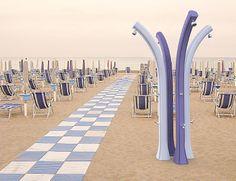 """DOCCIA SOLARE """" HAPPY BEACH"""" NEW GENERATION 2014 - GIARDINO, PISCINA, SPIAGGIA"""