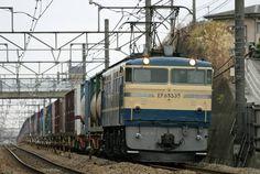 ☆オリジナルBD 【貨物列車 EF64 EF65】ブルーレイ版_EF65 535 2092レ