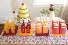 class reunion ideas | Class Reunion Ideas / Popcorn and Soda bar