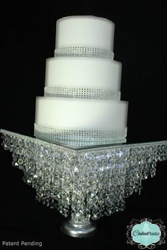 Crystal Wedding Cake Stand Chandelier StylePatent by CakeDress