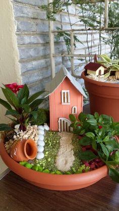 Mis jardines en miniatura on pinterest beautiful fairies for Jardines en miniatura