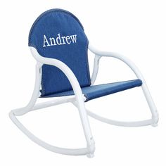 This kids rocker folds to flat and can easily be carried by children. These folding kids rocking chairs are useable indoors or out. Kid's love their personalized rocking chair! Personalized Kids Chair, Baby Doll Strollers, Kids Armchair, Childrens Rocking Chairs, Child Face, Kids Wood, Baby Dolls, Canvas, Baby 2016