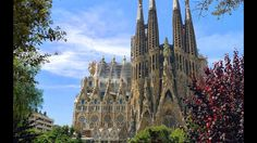 One of the UNESCO World Heritage Site Works of Gaudí, Sagrada Familia Ca...