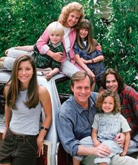 Seventh Heaven- Eric, Annie, Matt, Mary, Lucy, Simon, and Ruthie (1st season- before the twins)