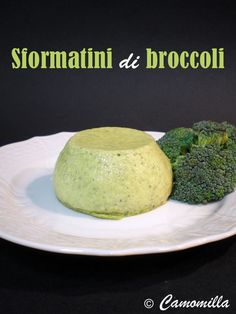 Broccoli and parmesan soufflè Tuscan Recipes, Italian Recipes, Flan, Antipasto, Crepes, Get Healthy, Cooking Time, Finger Foods, Broccoli