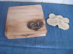Rustic Wedding Wood Personalized GUEST BOOK by dazzlingexpressions, $67.25