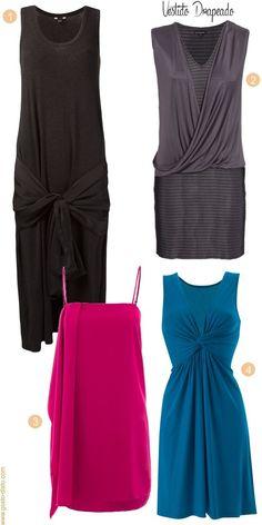 Vestidos que emagrecem, sem regime ou dieta