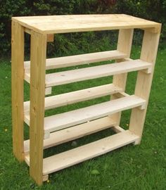 another cool shoe rack or any kind of storage for the carport