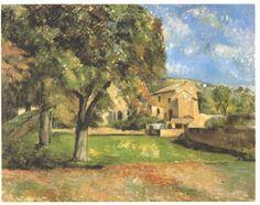 Horse-chestnut-trees in Jas de Bouffan - Paul Cezanne