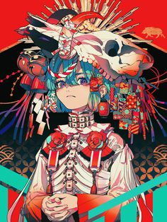 original, body harness, boy-cut / 亥 - pixiv Kunst Inspo, Art Inspo, Art And Illustration, Character Illustration, Aesthetic Anime, Aesthetic Art, Fantasy Kunst, Fantasy Art, Anime Art Girl