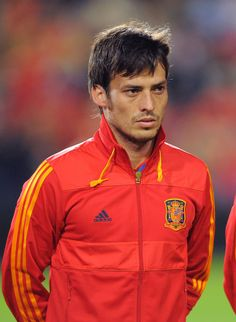 David Silva Photos Photos: Spain v Lithuania - EURO 2012 Qualifier City Of Manchester Stadium, Manchester City Wallpaper, Half Japanese, City Quotes, Euro 2012, Best Player, Football Players, Premier League, Spain