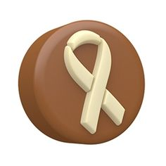 Awareness Ribbon Chocolate Covered Cookie Mold by SpinningLeaf