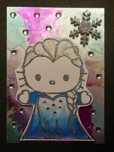 Treasure Seekers: Hello Elsa Kitty Letterbox Trading Cards