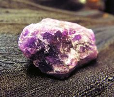 Rough, faceted Kenyan Amethyst for peace and serenity.