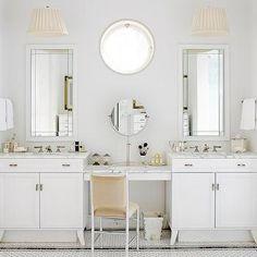 Separate Bathroom Vanities